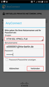 Cisco Anyconnect Login