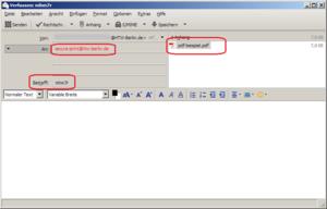 E-Mail in Thunderbird