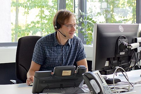 IT-Support im HRZ - © HTW Berlin / Torsten Rack
