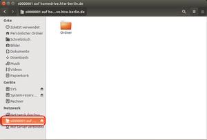 Ubuntu Dateimanager Netzlaufwerkansicht