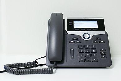 IP-Telefon - © HTW Berlin / Torsten Rack