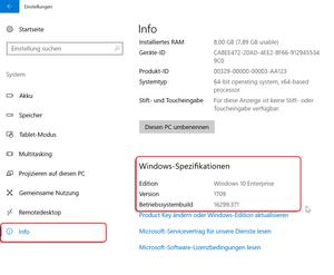 Windows Info