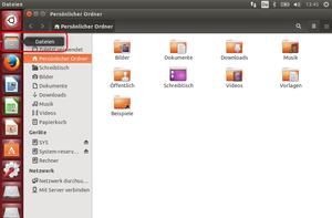 Ubuntu Dateimanager