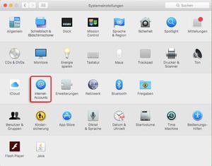 Mac OS Einstellungen