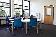 Büroraum im HRZ © HTW Berlin