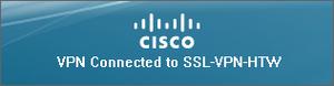 Cisco Anyconnect erfolgreich verbunden